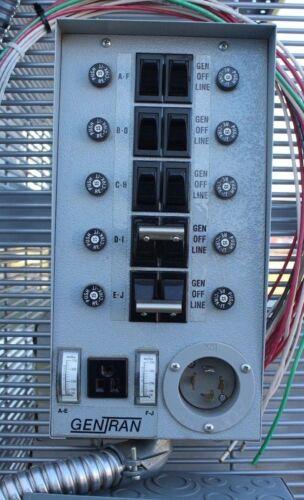 Manual Transfer Switch 7500W 120/240 30A