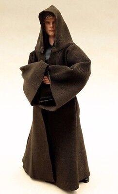 MY-R-TN: 1/12 Dark Brown Jedi Fabric Robe for 6