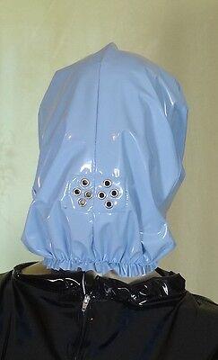 Vollmaske Gesichtsschutz Maske PVC babyblau Neu Diargh ()