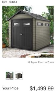 SHED 7.5x9