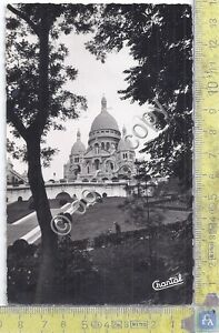 Cartolina-Postcard-Paris-Le-Sacre-Coeur-de-Montmartre