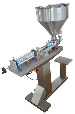 110v Paste Liquid Filling Machine 50-500ml With Stand Bottle Pack Seal