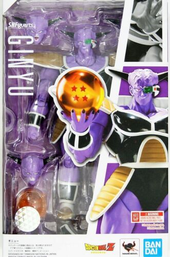IN STOCK Bandai S.H.Figuarts Dragon Ball Z Captain Ginyu Action Figure US SELLER