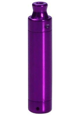 BUD BOMB Mini PURPLE 4 teilig 65 mm Metallpfeife Smoke Pipe Pfeife