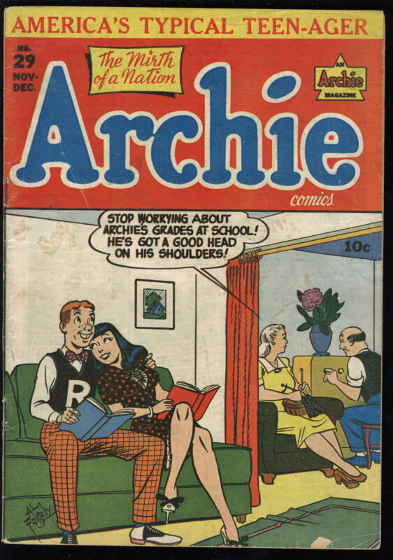 Archie Comics #29 VG 4.0 CR/OW Pages Riverdale