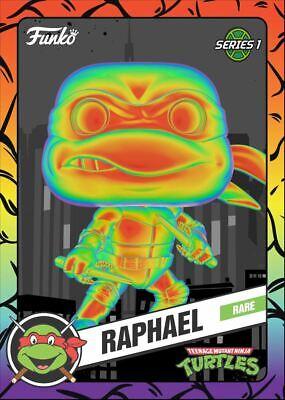 Funko Teenage Mutant Ninja Turtles TMNT NFT - RAPHAEL - Rare Thermal Mint #1065