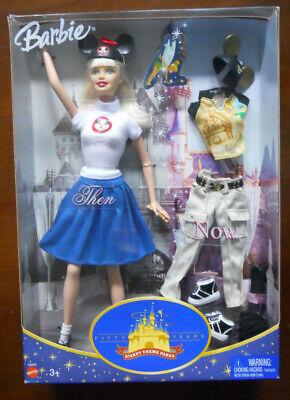 Barbie DISNEYLAND Park Anniversary Then&Now MOUSEKETEER Doll Disney 50th 2005