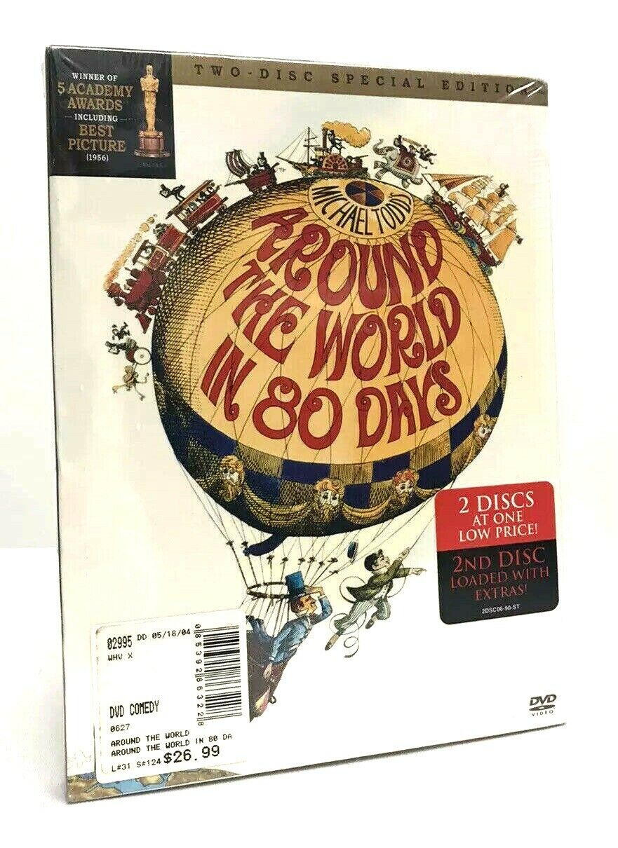 Around The World In 80 Days DVD 2004 2-Disc Special Edition 1956 Adventure New - $34.95