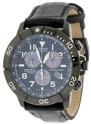 Citizen Eco-Drive Perpetual Chronograph Mens Watch BL5259-08E