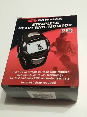 Bowflex Strapless Heart Rate Monitor EZ Pro New in Box