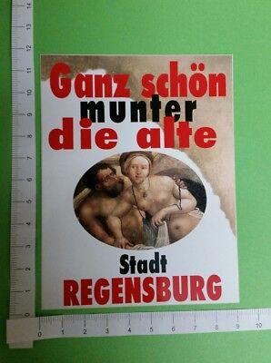 Sticker Regensburg Erotik