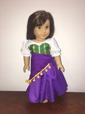 Fortune Teller Esmeralda Dress fits 18