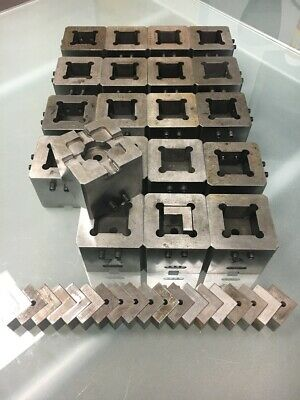 System 3r Compatible Macro Box Holder Set Of 20 - 3r-658.4e-s Edm Tooling