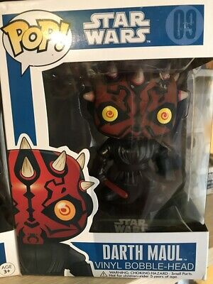 FUNKO POP Vinyl bobble head Star Wars Darth Maul 09