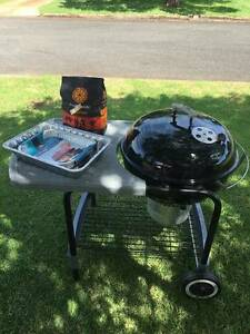 Weber Charcoal BBQ Grill, One-Touch Platinum, Black Rangeville Toowoomba City Preview