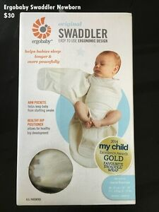 Ergobaby new born swaddler Ryde Ryde Area Preview