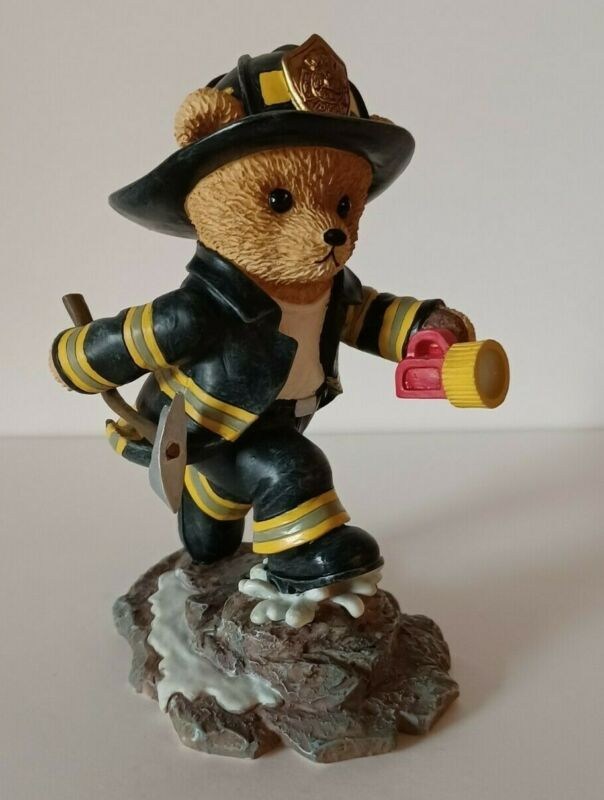 Faithful Fuzzies Firefighter 'To The Rescue'  Brotherhood Bears Collection