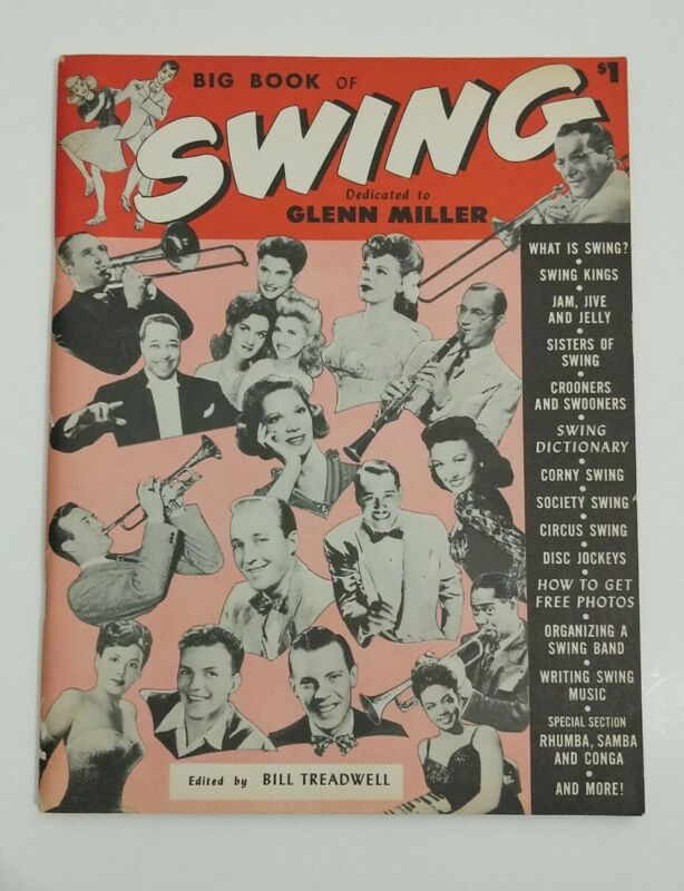 Big Book of Swing 1946 JAZZ Goodman Basie Sinatra  Armstrong  Ellington Ella NM