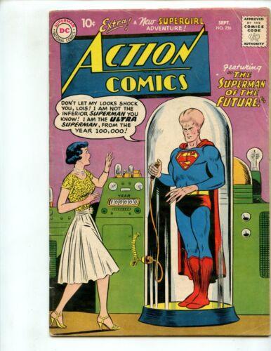 Action Comics #256 (1959) Superman VG
