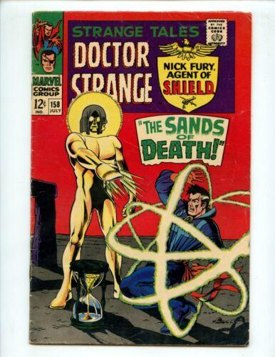 Strange Tales #158 (1967) Dr Strange and Nick Fury 1st App. Living Tribunal VG+