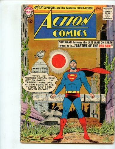 Action Comics #300 (1963) Superman Beard GD/VG