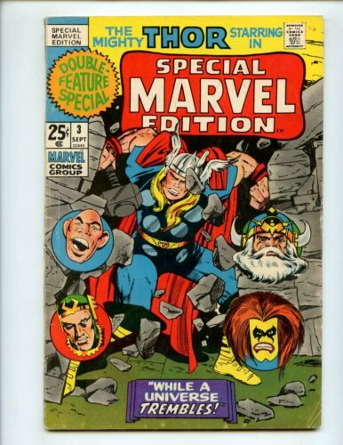 Special Marvel Edition #3 (1971) Thor VG