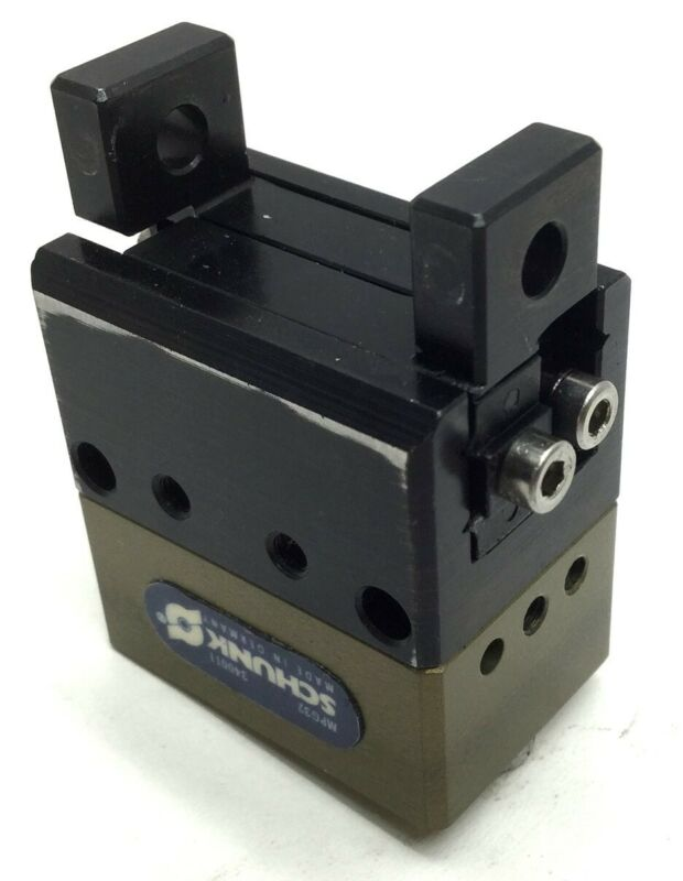 Schunk MPG32 2-Finger Parallel Gripper, Stroke: 4mm, Pressure Range: 2-8 Bar