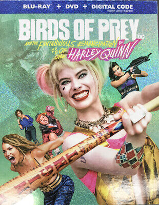 Birds of Prey Blu-ray DVD Digital Slipcover Brand NEW FREE~First Class Shipping!
