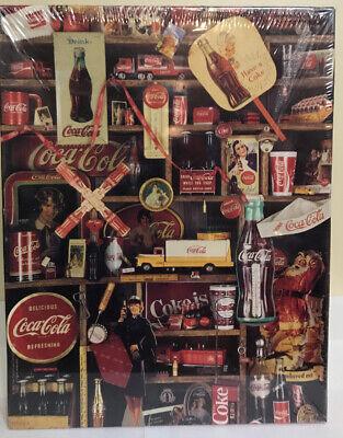 """New Coca Cola 500 Piece Puzzle """"Coke Is It!"""" Vintage Jigsaw Puzzle 1986"""