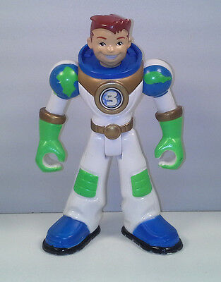 "5"" Earth Ace #3 Planet Heroes Action Figure 2006"