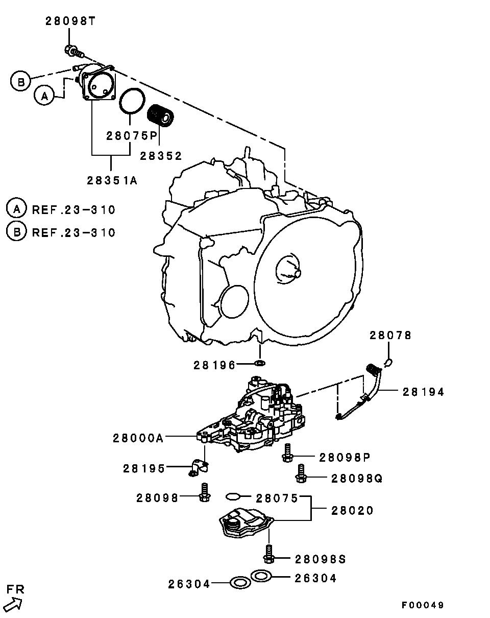 CVT Automatic Transmission Oil Cooler for Mitsubishi