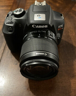 Canon EOS Rebel T6 DSLR Camera 18-55mm Lens