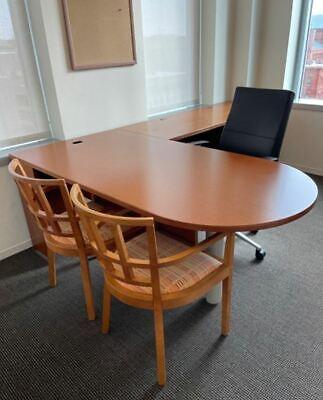 Knolllreff Executive Office Desk L-shaped