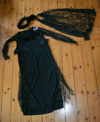 loween-Kostüm, schwarze Fee (Nacht Fee Kostüm)