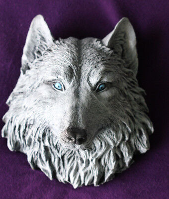 Ghost Game Of Thrones (Game of Thrones Direwolf GOT Dire Wolf Ghost White lightBlue eyes Collectors NEW)