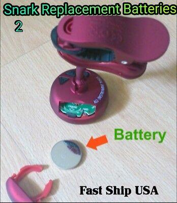 2- Replacement Batterys for SNARK orJOYO Guitar Tuner. USA Seller Fast Ship!