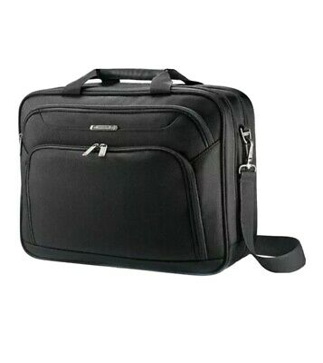 Samsonite Unisex  Xenon 3.0 Two-Gusset Toploader Briefcase Laptop Bag Black