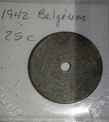 25 Centimes 1942 belguim