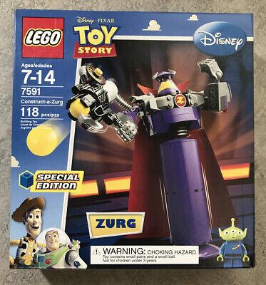 LEGO Disney Pixar Toy Story Construct-a-Zurg 118 pcs Brand NEW 2010 USA!
