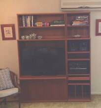 TV Entertainment Unit Parker furniture Teak Denistone East Ryde Area Preview