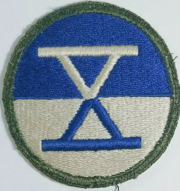 X Old Military Patch Obselet Canadian or Us Army badge Special WW 1 2 Insignia