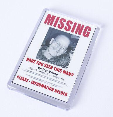 Breaking Bad Walter's Missing Poster Fridge Magnet