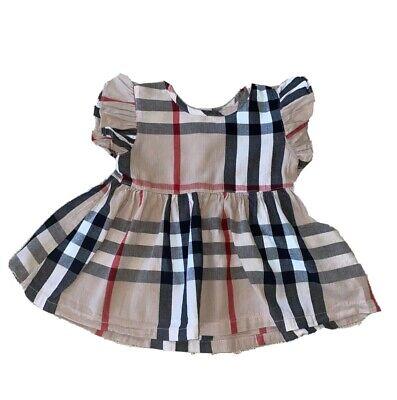 Burberry Brit Toddler Girls Kids Child Dress Size 18-24 Months Worn Once