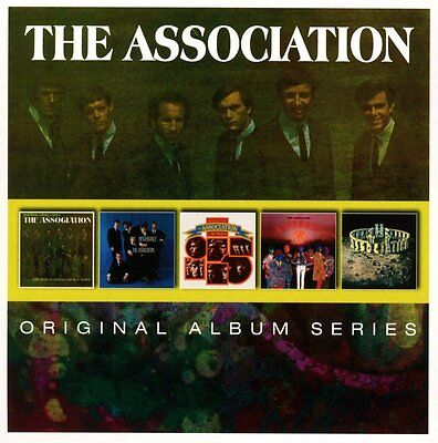 The Association Original Album Series Box Set Insight Out Birthday New 5 Cd