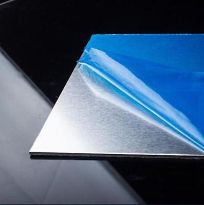Us Stock 5pcs 0.5mm200mm200mm 1060 99.6 Pure Aluminum Sheet Metal Plate