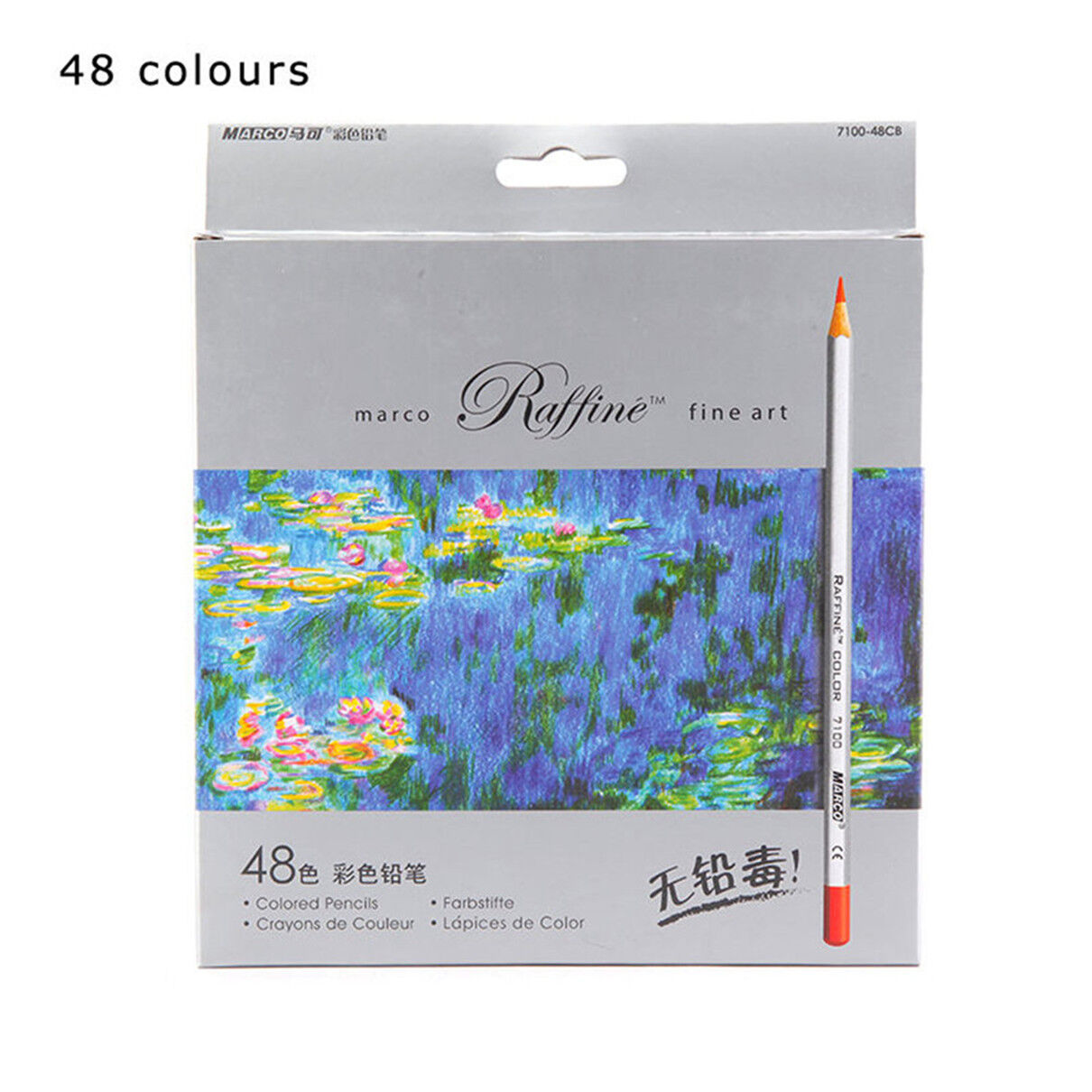 Fine Art 24//48//72 Color Marco Drawing Oil Base Pencils set for Artist Sketch