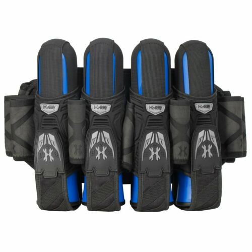 New HK Army MagTek Mag Tek 4+3+4 Paintball Pod Harness / Pack - Black / Grey