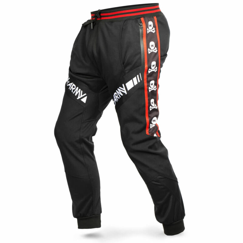 HK Army TRK Jogger Pants - Skulls Red - Large - Paintball