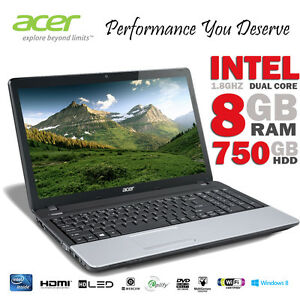 Acer-TM-15-6-Intel-Dual-Core-8GB-RAM-750GB-HDD-Laptop