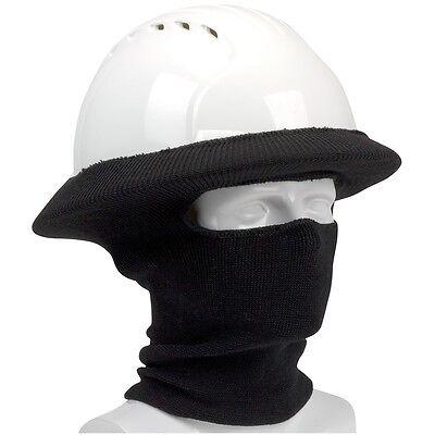 PIP Full Face Hard Hat Tube Liner, Black
